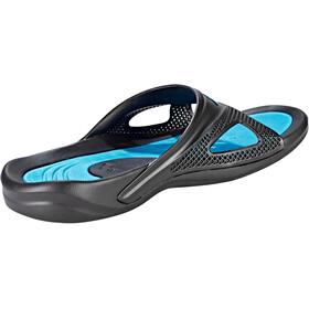 arena Hydrofit Hook Sandaalit Miehet, black-turquoise
